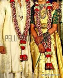 indian wedding flower garland jasminegarland jg105 vijayawada pelli poola