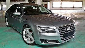 audi showroom audi a8l 4 0 tfsi showroom cond unreg year 2013