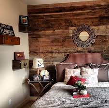 25 stylish bedrooms with wood clad walls digsdigs