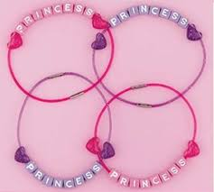 party favor bracelets princess party bracelets quantity 4 everything princesses