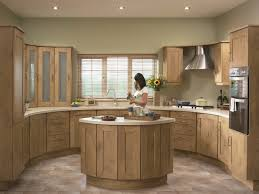 oak kitchen designs thraam com