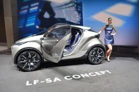 lexus lf sedan lexus lf sa concept little car big style autoguide com news