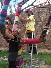 does yarn bombing hurt trees ask an expert