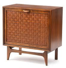 Lp Record Cabinet Furniture Walnut Lp Record Cabinet Ebth