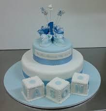 1st Birthday Cake Two Tier Pettinice Christening 1st Birthday Cake Sargent U0027s Cakes