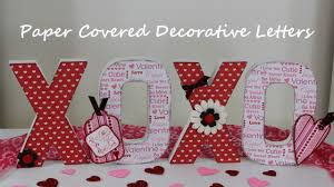 hugs and kisses decorative valentine u0027s day letters tutorial