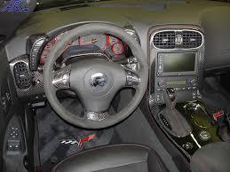 Corvette C6 Interior Lamination C6 Corvette Black Carbon Dashes