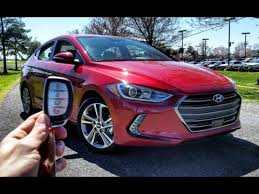 hyundai elantra test drive 2017 hyundai elantra limited start up test drive and review