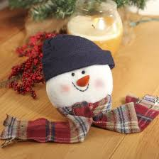 plush snowman ornament fartory direct craft