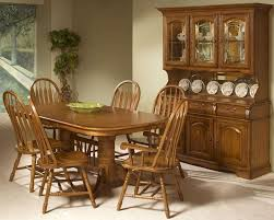 Oak Dining Room Tables Solid Oak Trestle Dining Set Classic Oak Incoi4296set