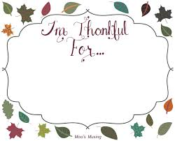printable i am thankful for thanksgiving happy thanksgiving