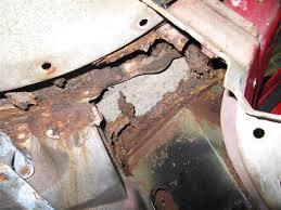 1982 corvette problems how to spot w s frame birdcage rust corvetteforum chevrolet