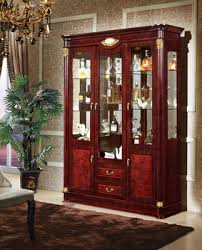Spray Booth Cherry Wooden Living Room Showcase Design Buy Living - Showcase designs for living room