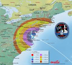 Map Of Florida And Bahamas by Orbital 3 Launch Viewing Map U2013 First Sight Nasa