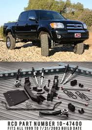 2002 toyota tundra lift kit rcd 1999 2003 toyota tundra 4 6 lift kit 10 47400