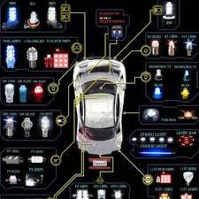 2 4 led 4w k1156 car auto light bulb lamps 11146