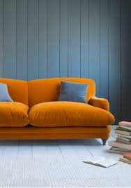 Orange Sofa Bed Pudding Sofa Puddings Colorful Living Rooms And Living Rooms