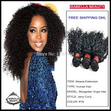Top Model Hair Extensions by African American Black Hair Style Romance Curl Hair Weaving Top 5a