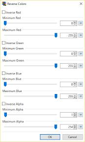 reverse colors plugins publishing only paint net forum