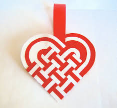 do it yourself ornaments paper hearts