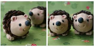 add a bit of nature to your tree with pinecone hedgehog
