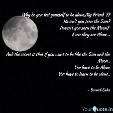 quotes learning to be alone barnali saha quotes yourquote