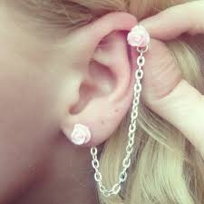 cartilage piercing earrings cartilage piercing pictures and images