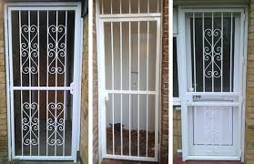 Patio Door Security Gate For Residential Applications Rsg3000 Security Door Gates Residential Commercial Industrial