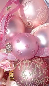 pink ornaments for the tree pinned by http www waterfront