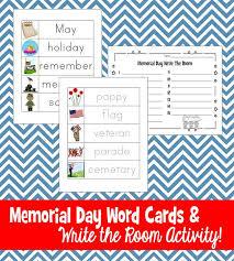 20 free memorial day worksheets u0026 printables