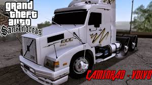 volvo sa trucks gta sa pc mod caminhão volvo fh youtube
