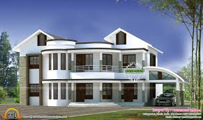3500 sq ft house plans home design square feet stupendous modern mix roof july kerala and