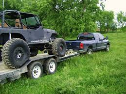 jeep hauling trailer pj buggy hauler vs deck over pirate4x4 com 4x4 and off road forum