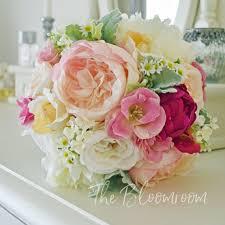 Silk Bridal Bouquet Bridal Bouquet Keepsake Bouquet Silk Wedding Bouquet Bridal