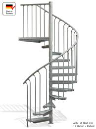 bausatz treppe spindeltreppe 17 stufen plus podest aussentreppe kappa pro 1370