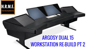 Recording Studio Desk Design by Argosy Desk Home Studio Workstation Re Build Pt 2 Youtube