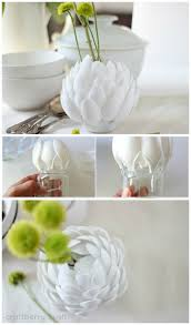 Diy Vases Wondrous Diy Flower Vase 74 Diy Flower Vase Food Chanel Flower