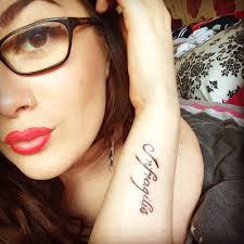 latin typography tattoo infragilis latin for unbreakable and strong tattoos pinterest
