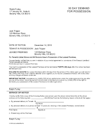 30 day eviction notice templates memberpro co