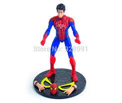 6 comics superhero spiderman collectible figurine pvc figure