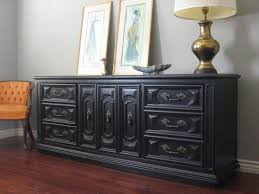 Dining Room Buffet Tables Best 10 Black Buffet Table Ideas On Pinterest Black Buffet