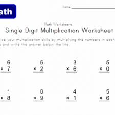 math worksheets 3rd grade multiplication 2 3 4 5 10 times tables 3