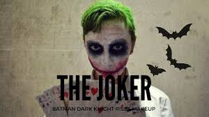 halloween costumes joker dark knight the joker batman dark knight makeup tutorial youtube