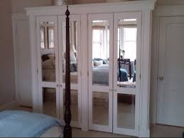 How To Build Bi Fold Closet Doors Frameless Mirror Bifold Closet Doors