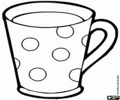 Drawn Mug Coloring Pages Pencil And In Color Drawn Mug Coloring Cup Coloring Page