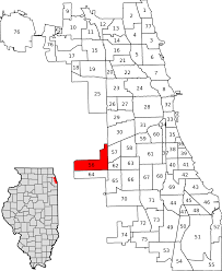 Chicago City Limits Map by Garfield Ridge Chicago Wikipedia