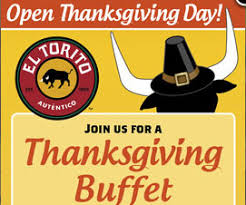celebrate thanksgiving with a mexican bull at el torito every day