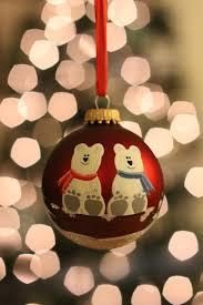 unique christmas bear ornaments