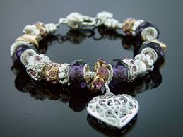 fashion european design lovely charm bracelet 925 silver