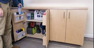 how to build bottom cabinets 17 diy garage cabinets to add more storage space in your